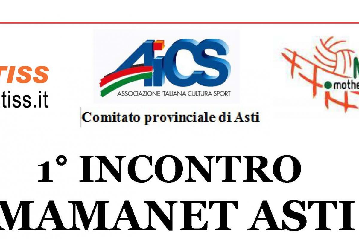 AICS – Arriva ad Asti Mamanet, lo sport per le mamme: il 19 maggio il primo incontro