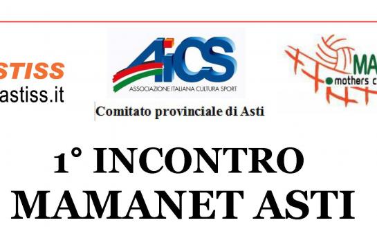 AICS - Arriva ad Asti Mamanet, lo sport per le mamme: il 19 maggio il primo incontro